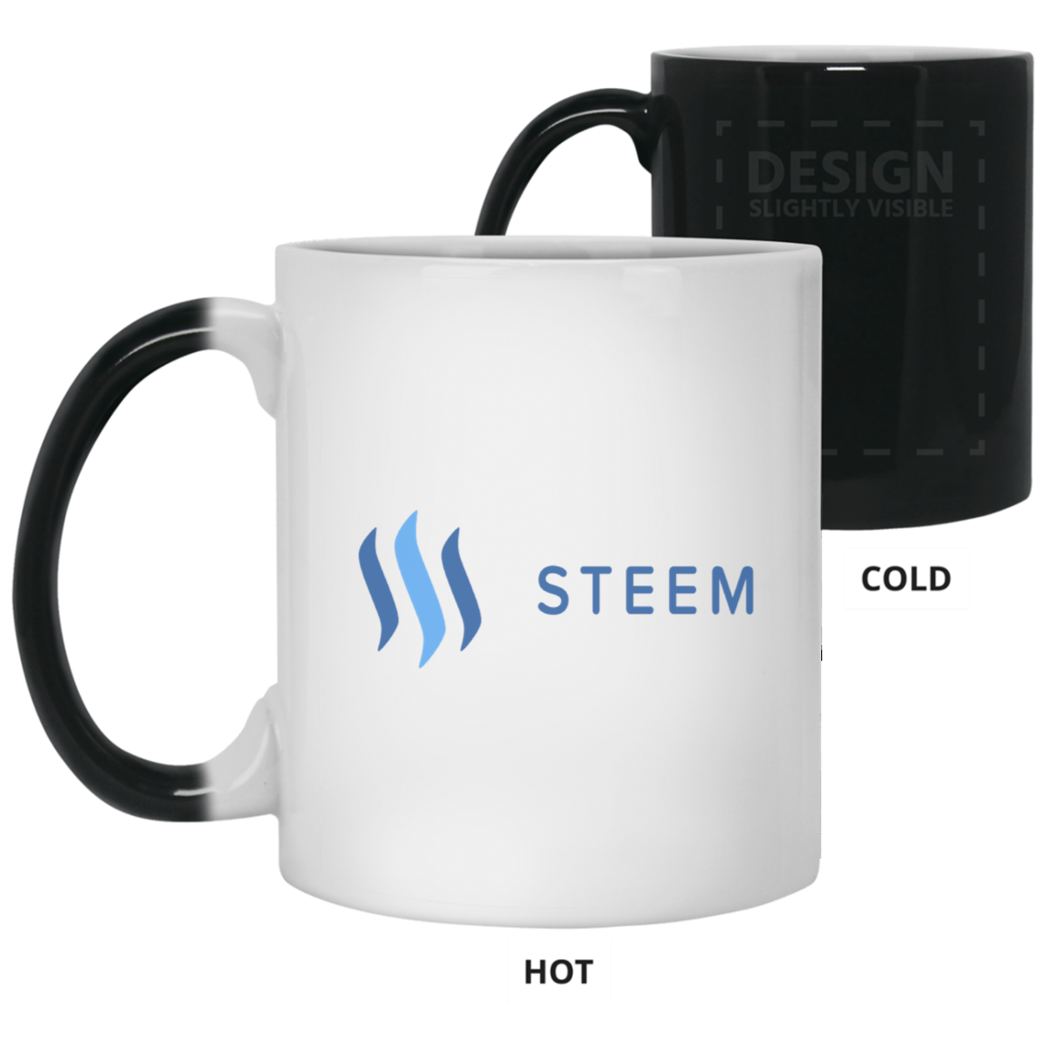 Steem - 11 oz. Color Changing Mug TCP1607 White / One Size Official Crypto  Merch