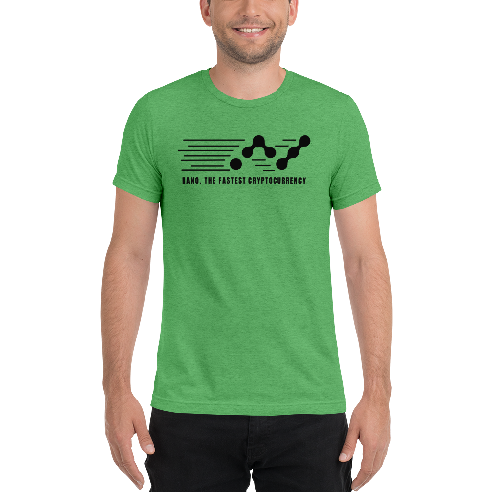 Nano, the fastest – Men's Tri-Blend T-Shirt TCP1607 Athletic Grey Triblend / S Official Crypto  Merch