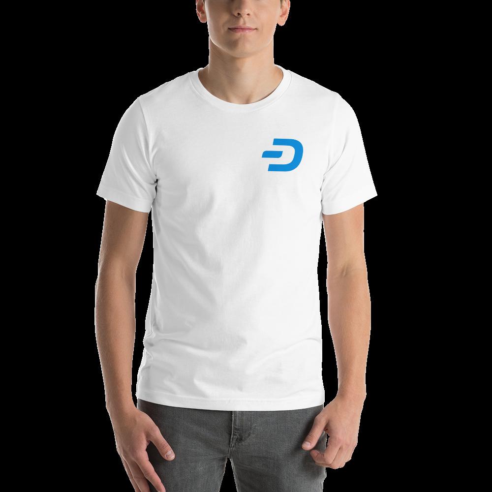 Dash Short-Sleeve Men T-Shirt TCP1607 White / XS Official Crypto  Merch