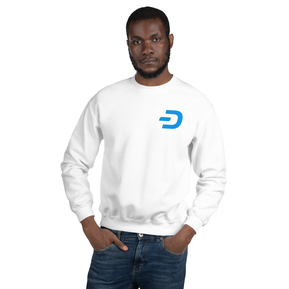 Unisex Sweatshirt TCP1607 White / S Official Crypto  Merch