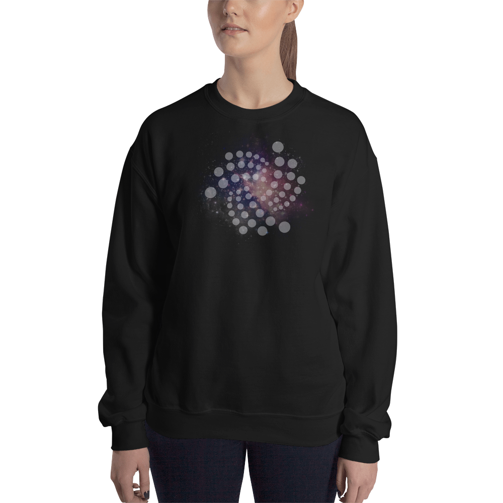 Iota universe – Women's Crewneck Sweatshirt TCP1607 Black / S Official Crypto  Merch