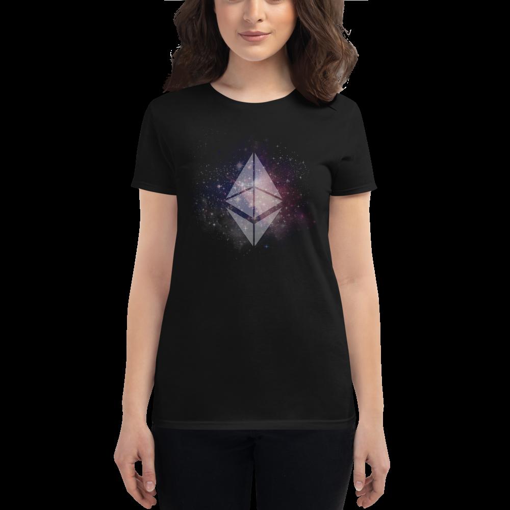 Ethereum universe - Women's Short Sleeve T-Shirt TCP1607 Black / S Official Crypto  Merch