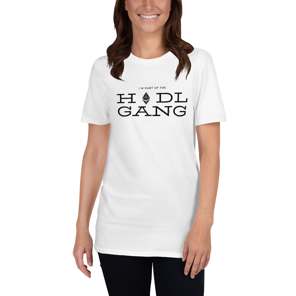 Hodl gang (Ethereum) - Women's T-Shirt TCP1607 White / S Official Crypto  Merch