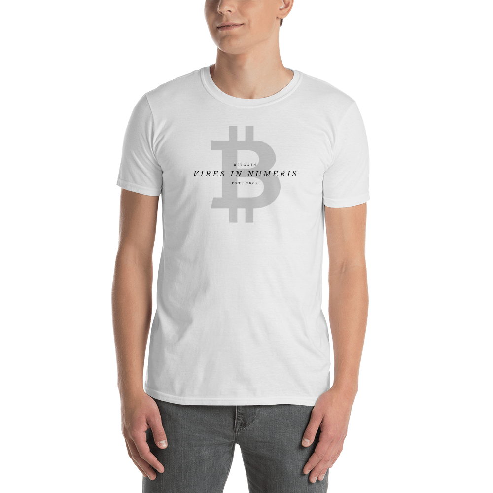 Vires in numeris - Men's T-Shirt TCP1607 White / S Official Crypto  Merch