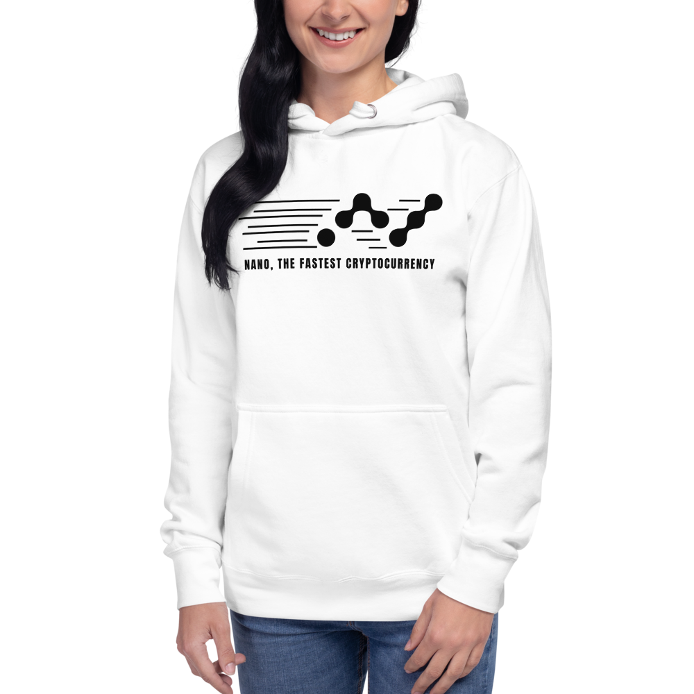 Nano, the fastest – Women's Pullover Hoodie TCP1607 Carbon Grey / S Official Crypto  Merch