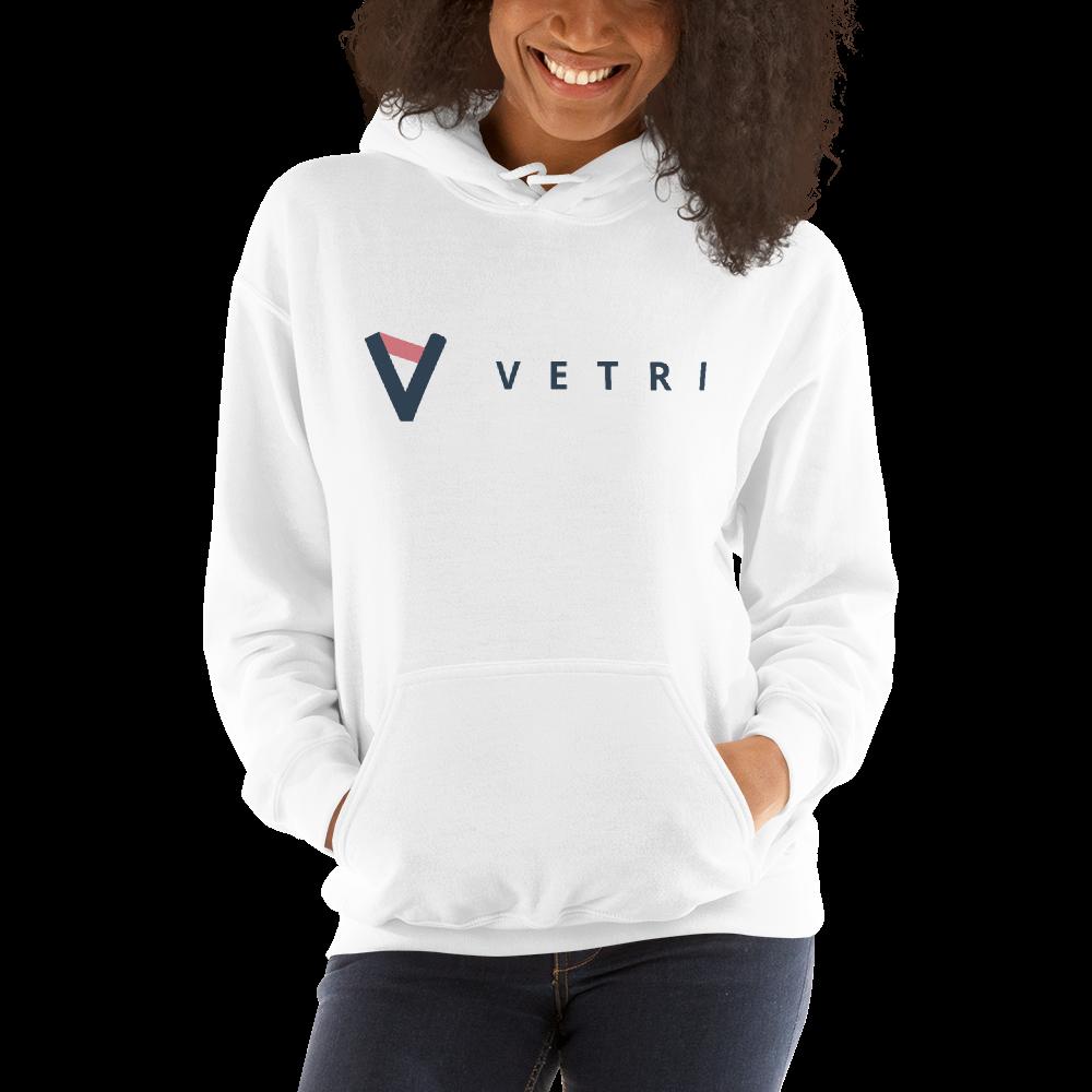 Vetri – Women's Hoodie TCP1607 White / S Official Crypto  Merch