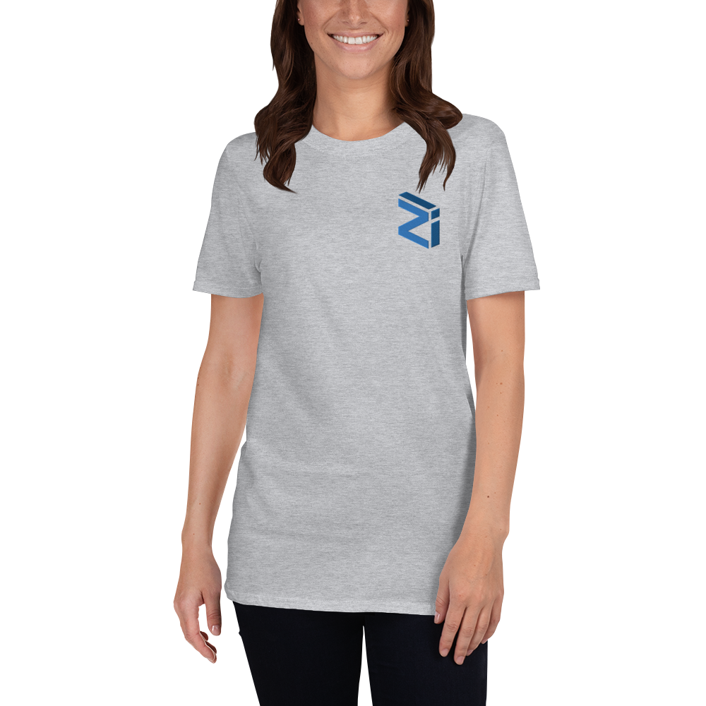 Zilliqa – Women's Embroidered T-Shirt TCP1607 White / S Official Crypto  Merch