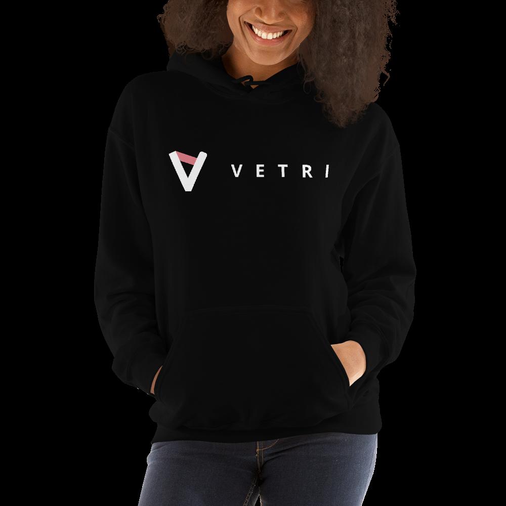 Vetri – Women's Hoodie TCP1607 Black / S Official Crypto  Merch