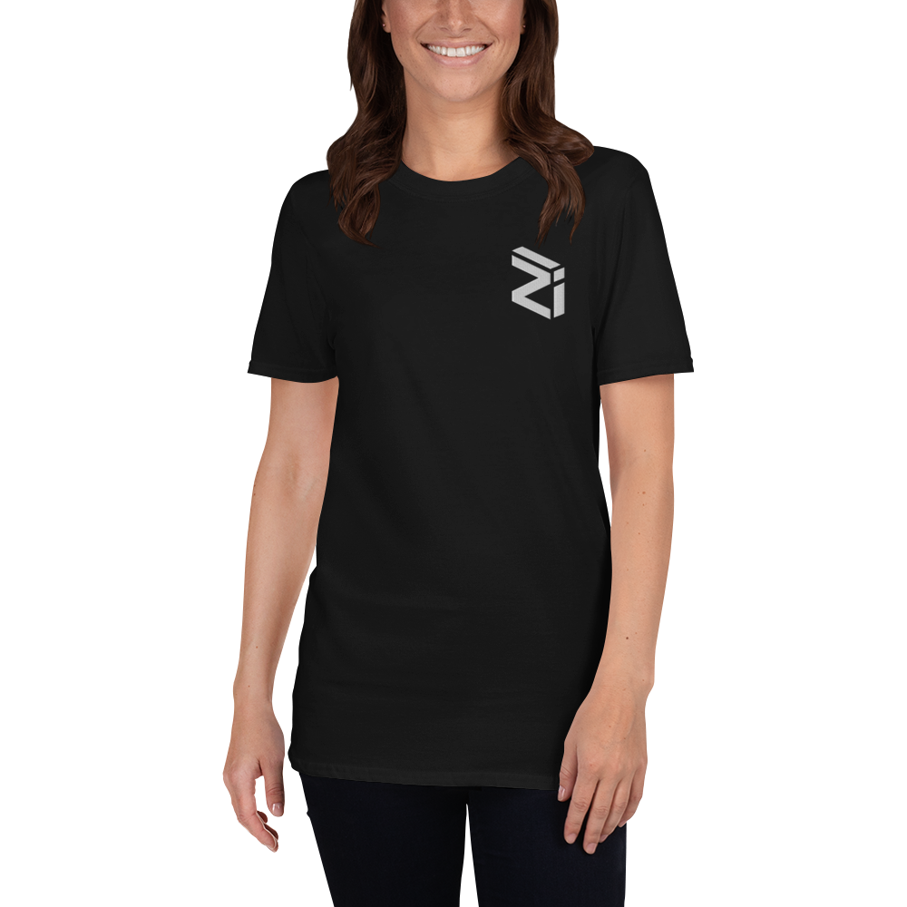 Zilliqa – Women's Embroidered T-Shirt TCP1607 Black / S Official Crypto  Merch